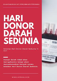 Gambar Ucapan Selamat Hari Donor Darah Sedunia 14 Juni