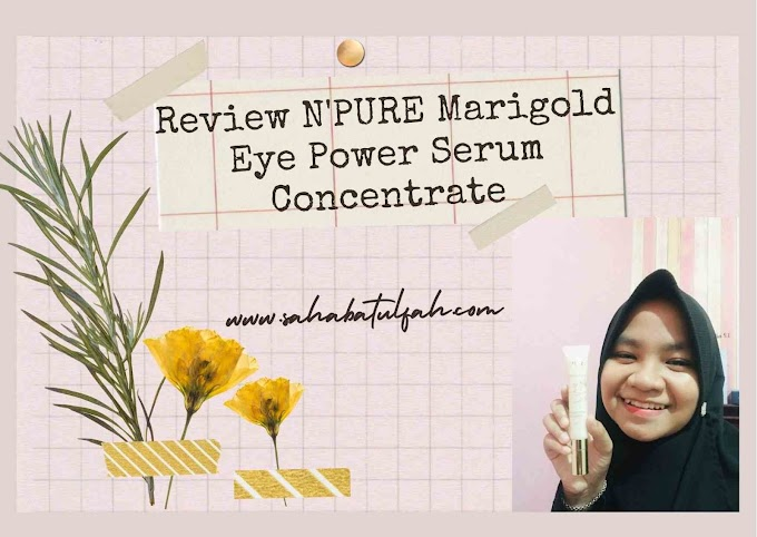 Review N'PURE Marigold Eye Power Serum Concentrate