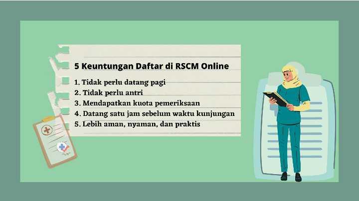 5 Keuntungan Daftar di RSCM online