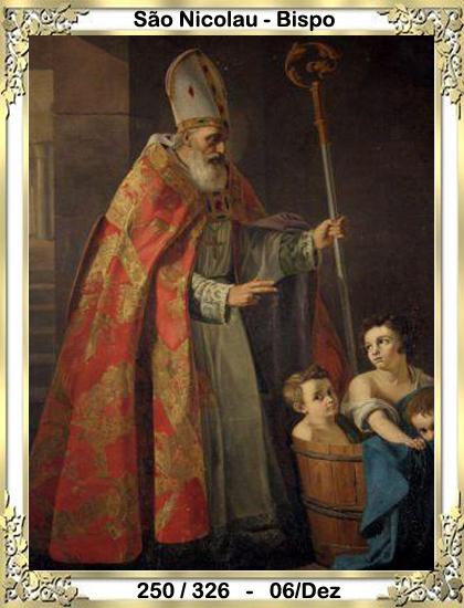 34989615e Nicolau é também conhecido por São Nicolau de Mira e de Bari. Venerado, por  todos os cristãos do Ocidente e do Oriente. Sem dúvida alguma, é o santo  mais ...