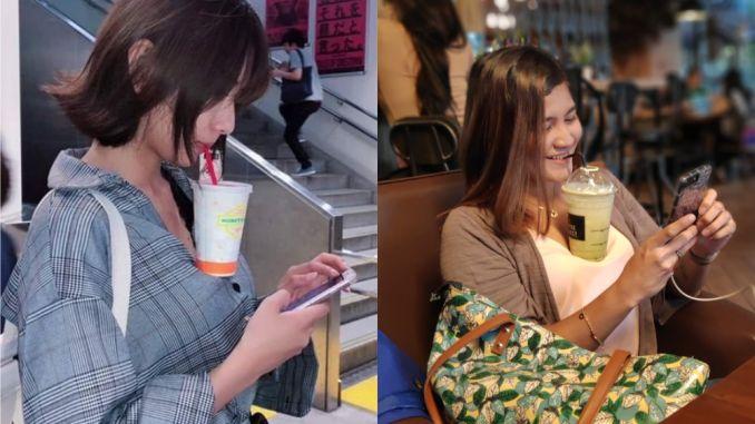 Hands-Free Milk Tea Challenge Goes Viral