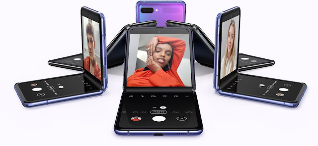 Samsung Galaxy Z Flip Foldable Phone