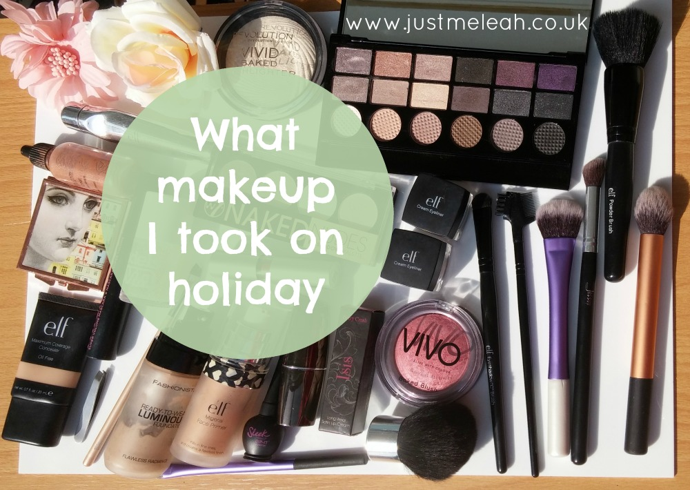 Beauty What Makeup I Took On Holiday Love Leah