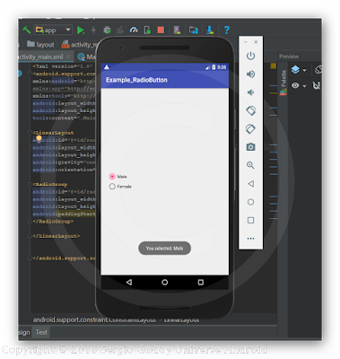 Android Studio - RadioButton Kotlin