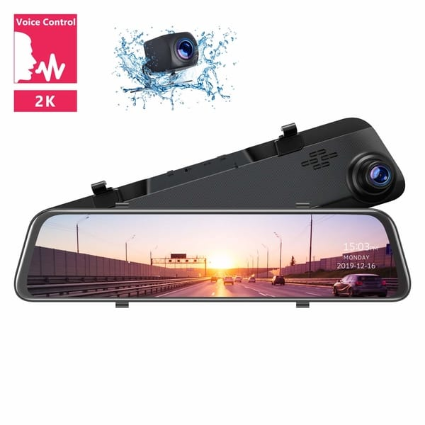 TOGUARD CE70 2K Mirror Backup Camera