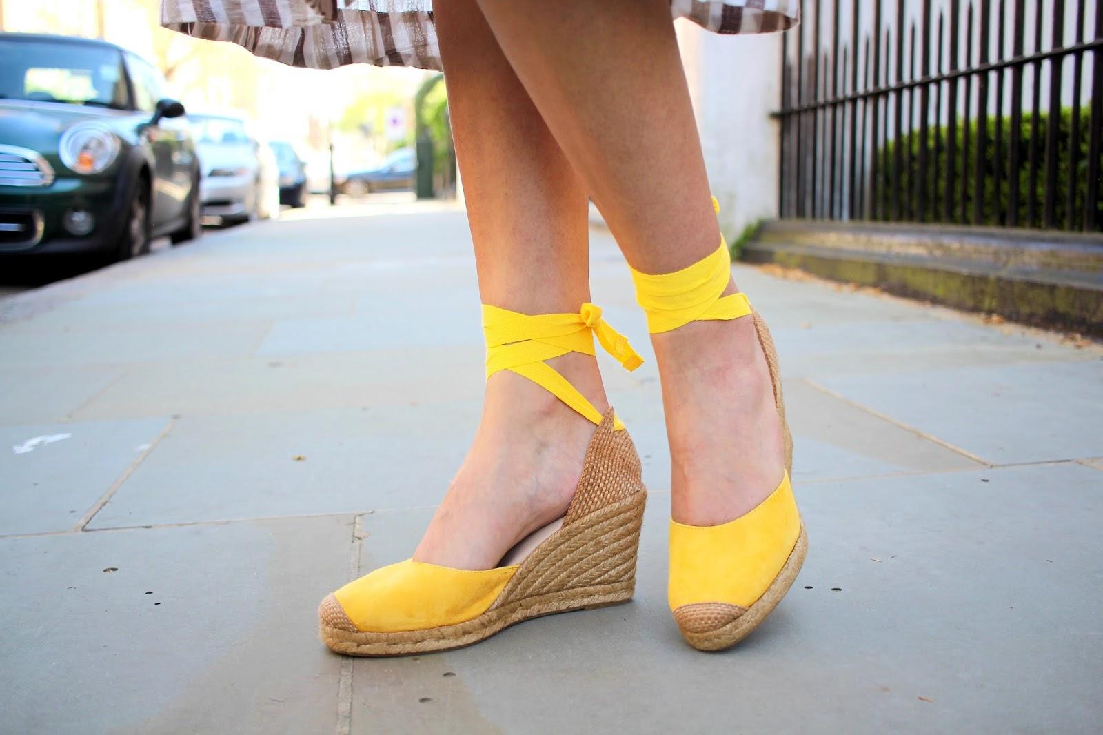 peexo blog mint velvet yellow espadrilles