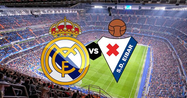 ريال مدريد ضد إيبارموعد المباراة والقنوات الناقلة اليوم الجولة 28 من الدوري الإسباني