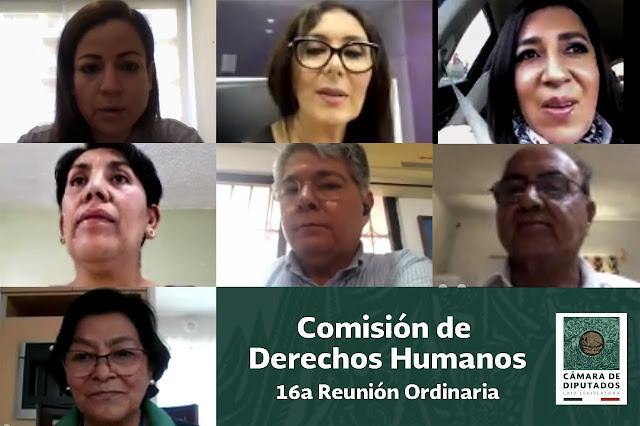 Avala Comisión incorporar el principio pro-persona en la defensa de los derechos humanos
