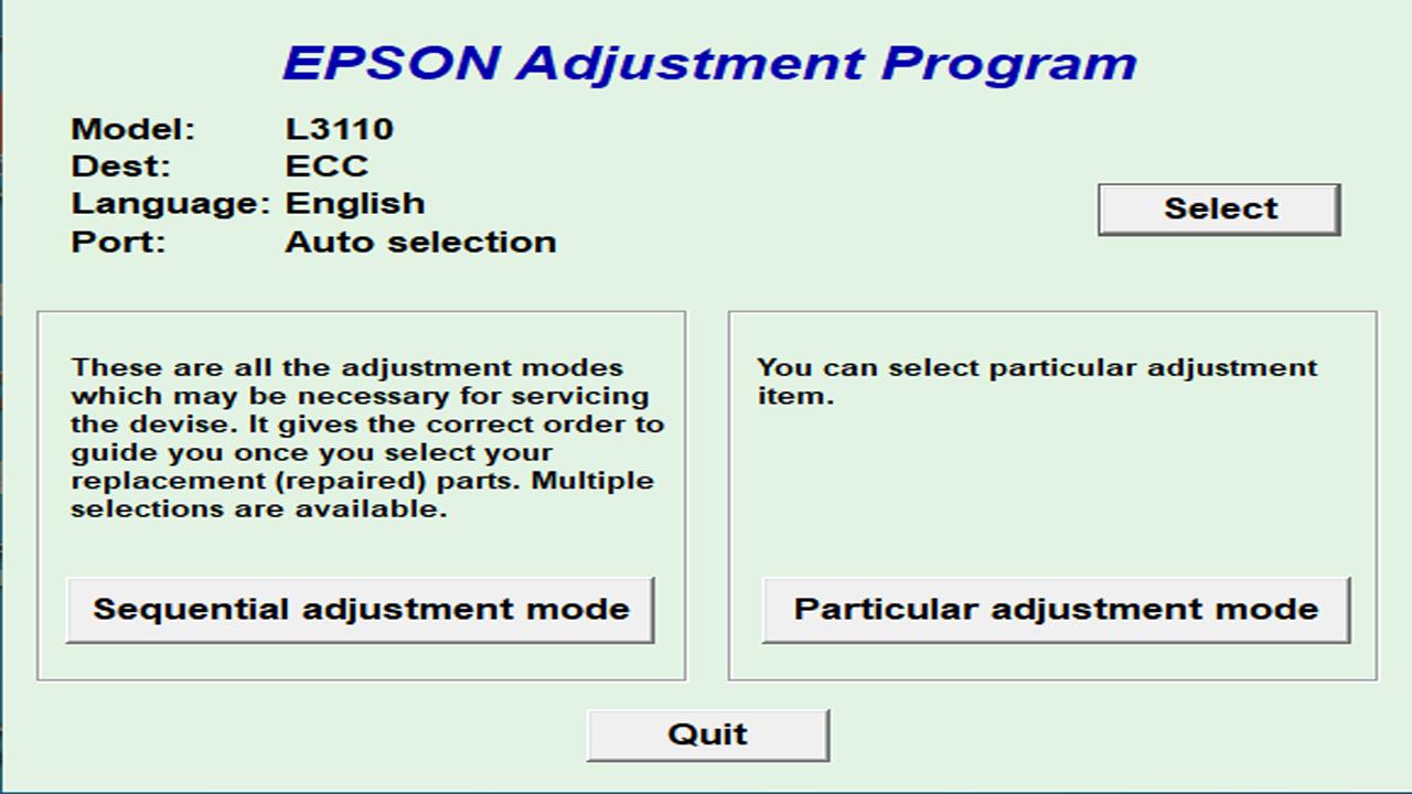 Panduan Mereset Printer Epson L3110 Secara Mandiri