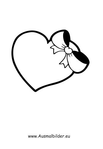Ausmalbilder Valentinstag Malvorlage