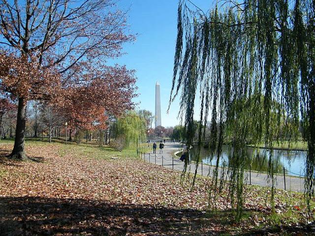 Landscape of Washington Monument National Park