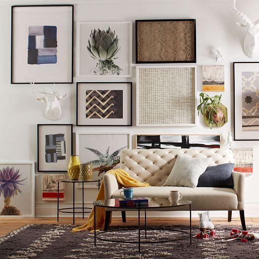 Como usar quadros para decoração - Jamilson Blog