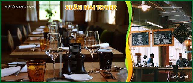tiện ích hiện đại tạo nên cuộc sống sang trọng tại dự án Xuân Mai Tower