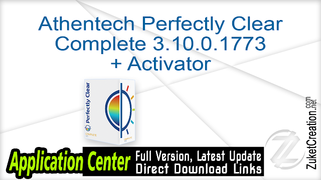 Athentech Perfectly Clear Complete 3.10.0.1773 + Activator