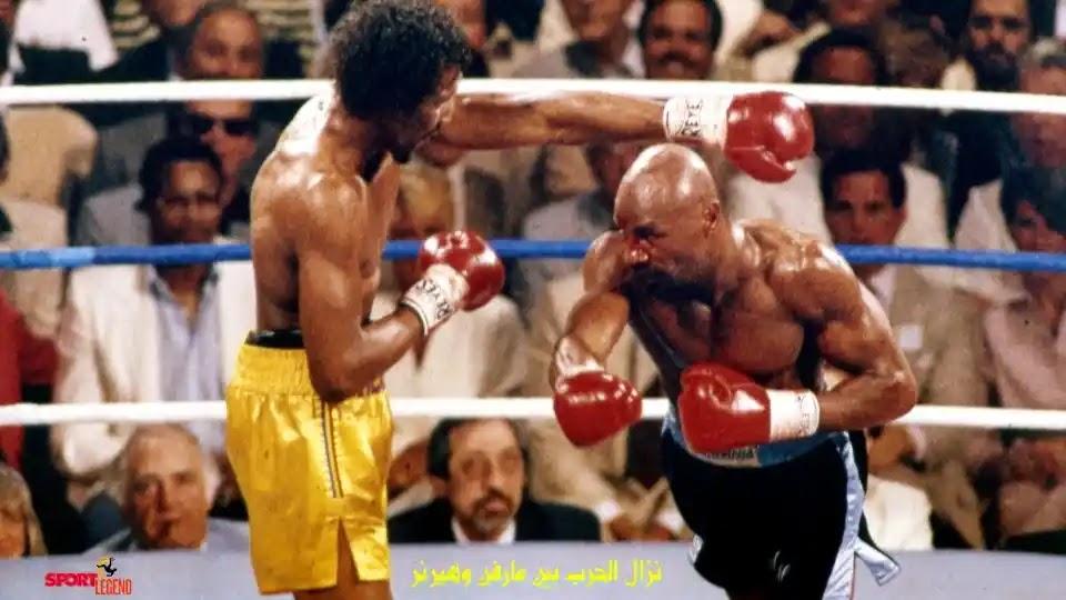 مارفين هاغلر,مارفيلوس مارفن هاجلر,وفاة مارفيلوس هاجلر,الملاكم الأمريكي,وفاة الملاكم الأمريكي هاجلر,ملاكمة,اسطورة الملاكمة الامريكي هاجلر