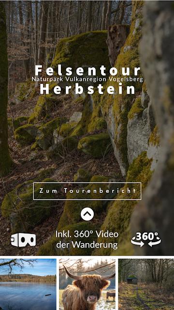 Felsentour Herbstein | Extratour Vogelsberg | Wandern in Hessen 14