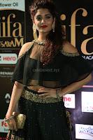 Ritika Singh in a Ethnic Deep Neck Dark Green Choli Ghagra at IIFA Utsavam Awards March 2017 ~ 043.JPG