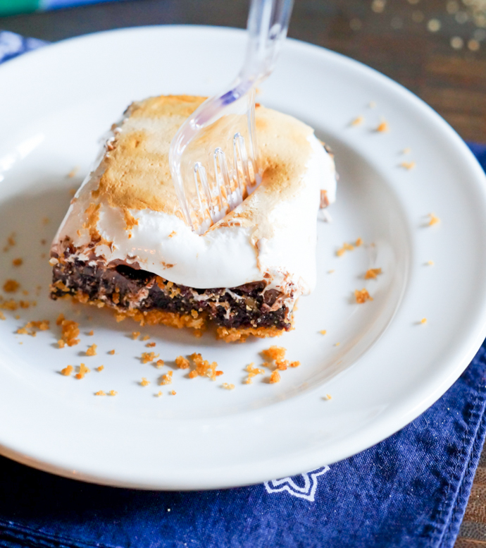 Sublime S'mores Brownies recipe