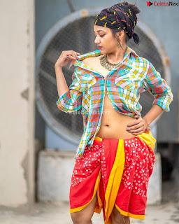 Maya Basu Sizzling Model Actress in Saree ~ .xyz Exclusive Celebrity Pics 003