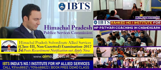 HP Allied Services Coaching in Chandigarh