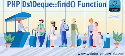 PHP Ds\Deque::find() Function
