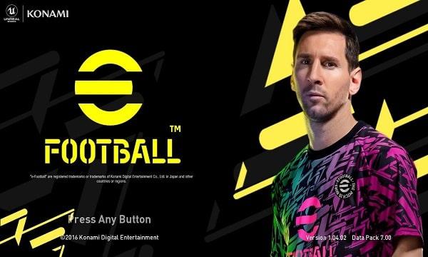 eFootball Graphic Menu Dark Version For PES 2017