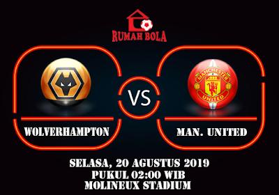 Prediksi Wolverhampton vs Manchester United 19 Agustus 2019