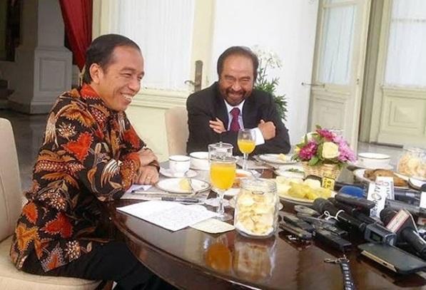 Surya Paloh Sebut Belum Semua Partai Koalisi Fokus Menangkan Jokowi