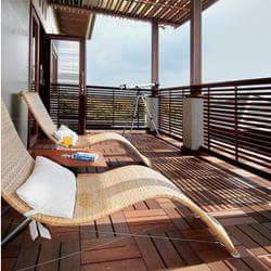 Reference home balcony for terraced houses small home for Balcony ki design