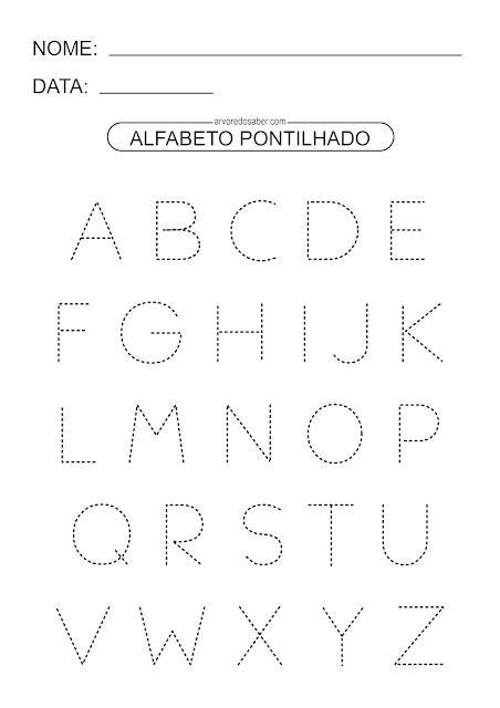 alfabeto pontilhado