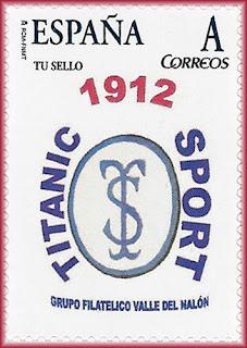 sello, tu sello, personalizado, Real Titánico