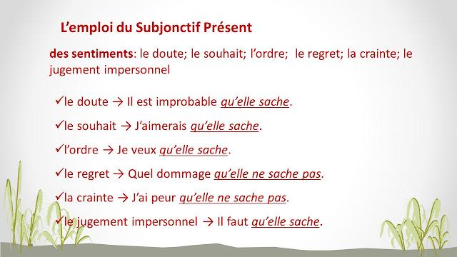 Subjonctif - zasady tworzenia 9 - Francuski przy kawie