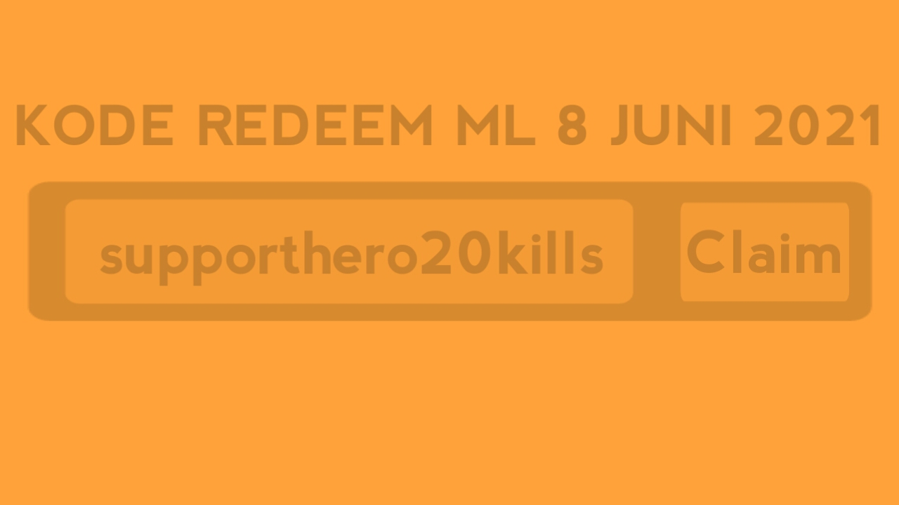 Unused ML Redeem Code June 8, 2021 Today