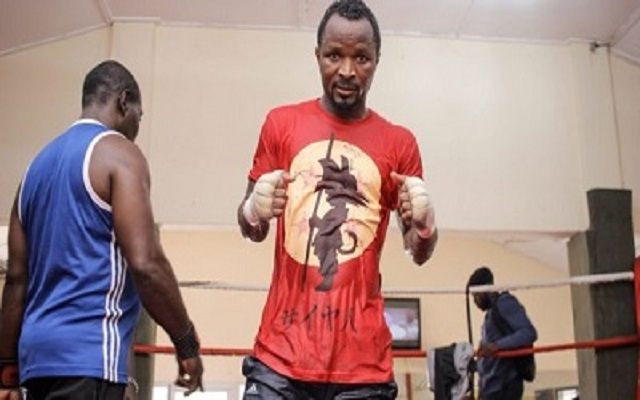 """King Kong"" Agbeko prepares for bout against Haji Juma"