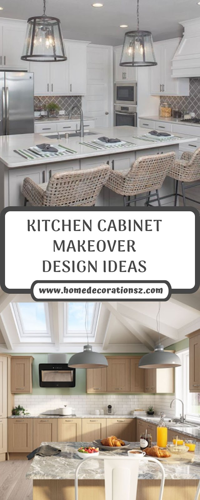 KITCHEN CABINET MAKEOVER DESIGN IDEAS