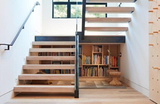 Desain Tangga Rumah Sempit Sederhana