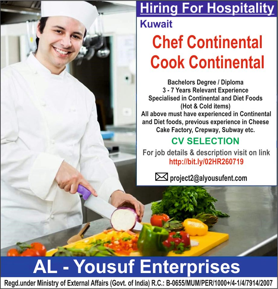 Hiring for Hospitality in Kuwait