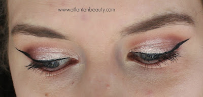 FOTD Using Makeup Geek Eyeshadow