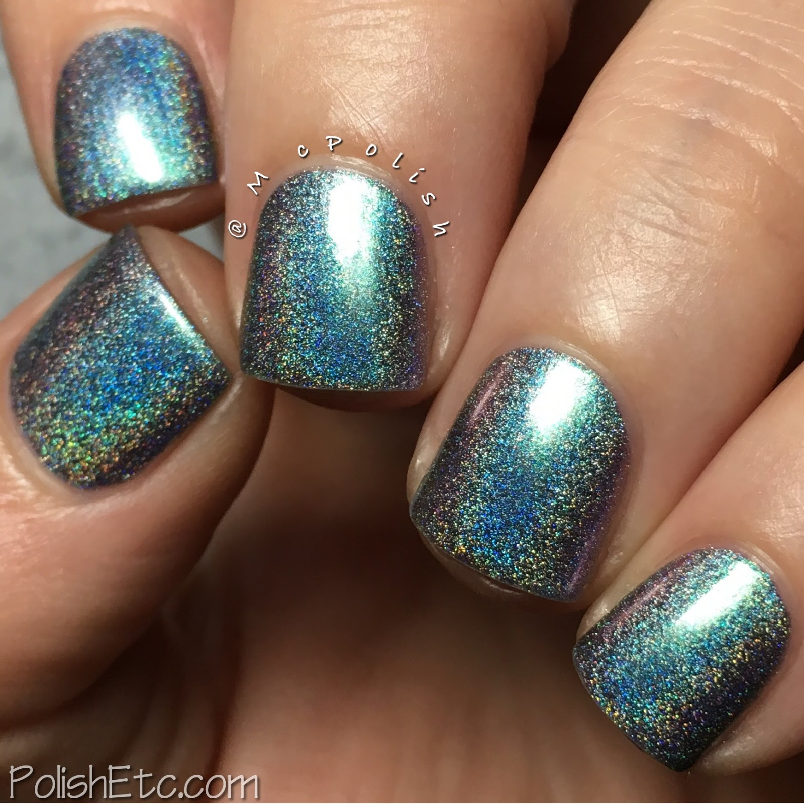 Great Lakes Lacquer - Polishing Poetic Collection - McPolish - Like Air, I'll Rise
