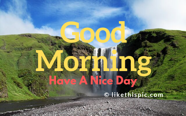 good morning messages for friends with picture
