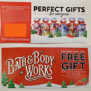 Bath & Body Works | New Bounceback Coupon Coming in November for December 2019 | Free Item