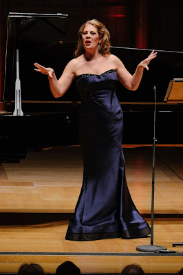 Sondra Radvanovsky at Rosenblatt Recitals at Cadogan Hall (photo Jonathan Rose)