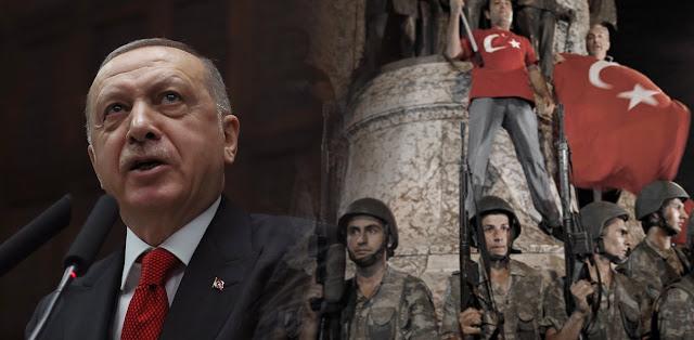 Ερντογάν: Το βράδυ του πραξικοπήματος μου είπαν να διαφύγω σε ελληνικό νησί