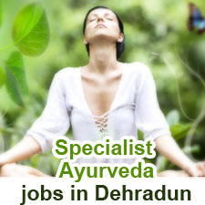 Specialist Ayurveda jobs in Dehradun Vana Retreats (Exp: 2-4 Years) www.vanaretreats.com