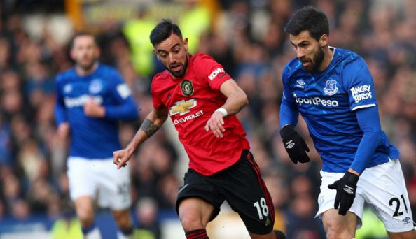 Everton vs Manchester United 1-1 Highlights