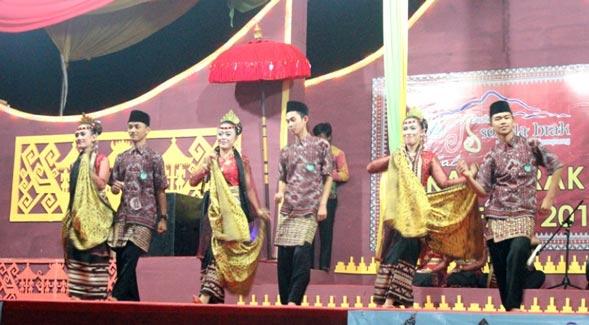 Tari Nyambai, Tarian Khas Lampung dalam Upcara Perkawinan Adat di Lampung Barat