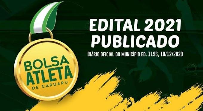 Caruaru realiza inscrições para o Bolsa Atleta 2021