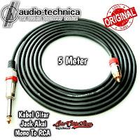 Kabel Gitar 5 Meter Jack Akai Mono To RCA