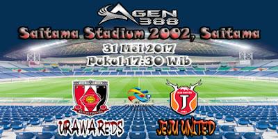 JUDI BOLA DAN CASINO ONLINE - PREDIKSI PERTANDINGAN LEG KE-2 AFC CHAMPIONS LEAGUE URAWA REDS VS JEJU UNITED 31 MEI 2017