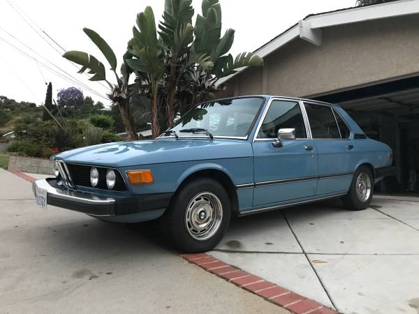 Potential Example, 1977 BMW 530i Sedan